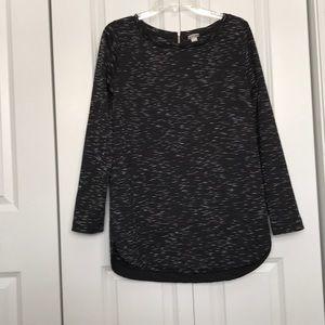 Merona women's size medium zip up back top shirt